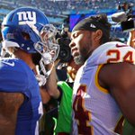 Nothing but respect at the end of the day  💯  #WASvsNYG https://t.co/xlyDGVGfV4