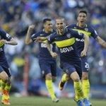 Final del primer tiempo. #Boca 4 (@PipaBenedetto x3 - @rickcenturion) - #Quilmes 1 (Da Campo). https://t.co/h1yLjq020e