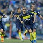 FINAL del 1T, #Boca 4 (7, 17, 25 @PipaBenedetto; 23 @rickcenturion) - Quilmes 1 (12 Da Campo).- #La12Twittera https://t.co/qRhPTIOMLI