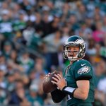 """""""I dont believe in Carson Wentz until he does it against a good team"""" - Everyone """"Watch this."""" - Carson Wentz https://t.co/ZdWN3HTck0"""