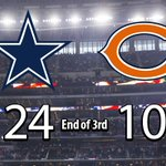 Dak is up to 224 total yards and Zeke has 94 rushing yards! #DallasCowboys lead after three #CHIvsDAL https://t.co/kUlfKb6O93 https://t.co/A0m6pBh3Rr