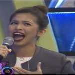 """.@mainedcm does hilarious moves while singing """"Alone""""! View: https://t.co/9P6djwWRqM #ALDUBIkawLang https://t.co/eaCqXNEAnM"""
