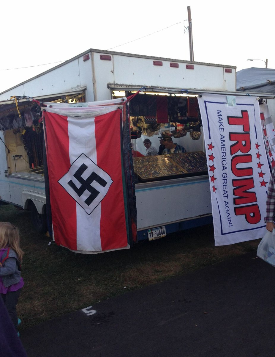 Spotted by a friend at the county fair in Bloomsburg, Pennsylvania. https://t.co/dgWoc7Yqpb