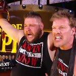 Still your @WWE Universal Champion, @FightOwensFight!! Still his best friend, @IAmJericho! #DrinkitIn! #WWEClash https://t.co/7O5Iyn8RR1