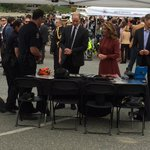 The #vpd booth proudly on display for Prince William and Mme Trudeau @VancouverPD https://t.co/LbmHI637ZW