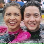 Good am @NDF_INTL_OFC ❤️❤️❤️❤️❤️ Then and now, no more no touch and 1foot 😂😂😂😂😂 #ALDUBIkawLang CTTO https://t.co/GU9RCMwNCR