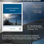 Book Launch: Harald Bauders Migration Borders Freedom #Cdnimm #cdnpoli @RyersonResearch @CritGeog @RyersonFCS @RyersonGeo @RUFacultyofArts https://t.co/gUKSlr7OH8