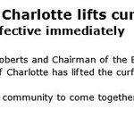 #BREAKING: City of Charlotte lifts midnight curfew, effective immediately #CharlotteProtest #KeithScott https://t.co/nqhDsOYCPR