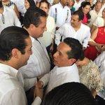 Felicidades a @CarlosJoaquin por su toma de protesta como Gobernador Constitucional del Estado de Quintana Roo. https://t.co/M243SPirEn
