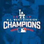 The @Dodgers are NL West champs! @AM570LASports has the latest! #WinForVin https://t.co/OKgJB4MKni https://t.co/sIYs7uILNv