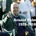 Its a sad night. Arnold Palmer has passed, at 87. https://t.co/9eYGS8Bwxy