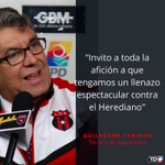 Farinha le pide a su afición que llene el estadio ante Herediano https://t.co/NcXOq47ITQ