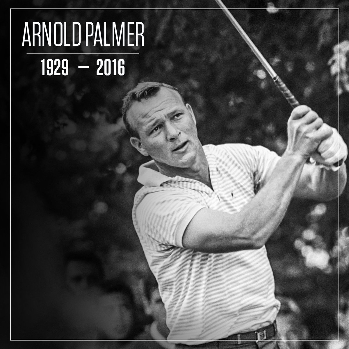 Golf has lost an icon.   The legendary Arnold Palmer has died at 87. https://t.co/RvCur6b2Ih