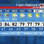 Some showers and storms through Wednesday then genuine fall weather arrives! #scwx https://t.co/hZZdaufcY9