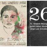 26 Jorge Luis González #Ayotzinapa2años FueElEjercito BastaDeImpunidad #EPNresponsableDeLos43 @tryno https://t.co/lFBpHQezrp