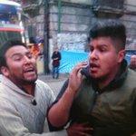 Me confirman que el camarógrafo agredido es de la red @bolivision y no así de #redUNO y seguimos buscando al sujeto https://t.co/OMeWWN8ShX