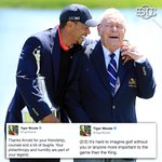 Tiger Woods remembers his friend, Arnold Palmer. https://t.co/fLR7AVRzmY