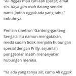 """Soal Asmara, Aliando Syarief: """"Diem-diem aja tapi ada yang samperin""""  Hahahaha true @alysyarief https://t.co/egIMXLgrj0"""