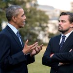 OBAMA: listen leo there are very specific reasons why u cant play me in a bio pic LEO: [alredy studying his body language] https://t.co/vqMTRJ6EbI