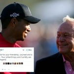 Tiger Woods pays a remembrance to the legendary Arnold Palmer. #RIP https://t.co/JEqmh0tavq