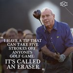 One of many memorable Arnold Palmer quotes. https://t.co/SCbNM1z3rW