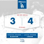 RECAP: #Dodgers walk off on @cculberson23s homer, clinch West. 👊 #WeLoveLA 🔗: https://t.co/BPuRxrKA9h https://t.co/oIlMZKAHhP