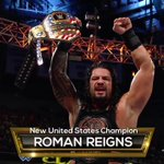 Congratulations to @WWERomanReigns, your NEWWW United States Champion!! #WWEClash https://t.co/z8wWiOV7s5
