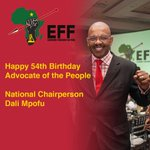 Happy 54th Birthday Advocate of the People:  National Chairperson: Dali Mpofu https://t.co/mwFnVNjpCc