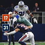 .@dallascowboys hurdle their way to a victory! #DallasCowboys #CHIvsDAL https://t.co/AbS1YzohwD