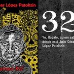 32 Julio Cesar Lopez #Ayotzinapa2años FueElEjercito BastaDeImpunidad #EPNresponsableDeLos43 @Netzai_Sandoval https://t.co/pba8375SoT