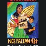 RT Megafono_Mx: Mañana marcha por los dos años de la desaparición de los 43 estudiantes de Ayotzinapa #Ayot2inapa https://t.co/ozpoA4exTw