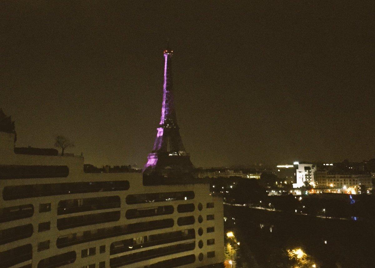 Elle était violette cette nuit