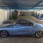 My 1961 Karmann Ghia. 1st in its class at the #CBAConcours2016: Before and after. https://t.co/34OXUVww2x