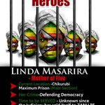 #LindaMasarira is STILL imprisoned 4 speaking out for OUR freedom! #ThisFlag #Tajamuka #FreeLindaNOW https://t.co/pBDm9OivfK