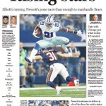 Cowboys rise/jump/hurdle over Bears, 31-17 ... in Mondays Dallas Morning News SportsDay. https://t.co/TW74woMyGI