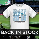 Sharks #NRLGF T-shirts (White) are now back in stock at the Sharks Leagues Clubs pop-up Sharks Store! #WhyNotUs https://t.co/ewBXx3FwVA