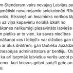 Ozoliņam labs raksturojums sanācis politiķiem, kas dzīvo no Latvijas tautas sašķeltības. https://t.co/juSirV0F0X