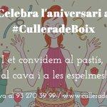 Has fet anys? A #CulleradeBoix ho volem celebrar amb tú! Mira: https://t.co/BkivSw3Gq8 #Barcelona https://t.co/GiBIWLr2w7