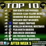 Our RGV TOP 10 Football Teams List (After Week 5) https://t.co/PwomFnKGX6