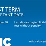 #UVic tuition fees are due this Friday. How to view your account balance https://t.co/vwrDKKQeVN https://t.co/ZGTCKTyJL0