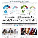 Susana Diaz y Eduardo Medina, piden la dimisión de @sanchezcastejon @PSOE @elconfidencial https://t.co/u9AmTqaiDO
