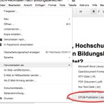 \0/  #GoogleDocs kann jetzt #epub exportieren! \0/ https://t.co/C0JA5X1Sae