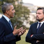 Am I jealous of Obama for meeting Leo? Or jealous of Leo for meeting Obama? https://t.co/fABAouLxHO