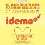 Da li ste spremni za #poznatitenis turnir? Čekamo vas ovog vikenda, ulaz besplatan! #Srbija https://t.co/ZWDJtzB4dQ