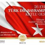 Türk Dil Bayramımız Kutlu Olsun. #TürkçeYaz #TürkçeKonuş https://t.co/Gdcpvt8c0Q