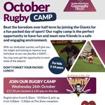 Want to play like @GiantsRL then join our half term #rugby camp on 26/10 #Huddersfield https://t.co/ZPOiAWZ43T