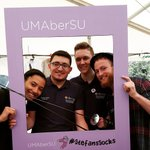 Great to see the #stefanssocks campaign getting off to a flying start! @UMaberSU https://t.co/BU4j2ER7dy