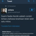 Ni yang aku suka twitter ni 😂😂😂 #NadiaNordin https://t.co/I6hYSmgmbX