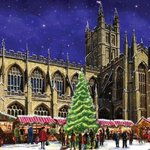 Locally themed #hospice #Christmas cards to help us care, get yours now from our online shop: https://t.co/DargPpyFp2 @bathabbey @WeLoveBath https://t.co/ywGfYeGvFc