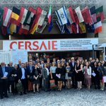 First day at #Cersaie2016 with the North American delegation of architects, designers & journalists https://t.co/006tRW7OGA